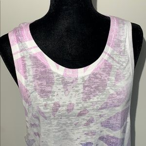 soulcycle Tops - Soul cycle burnout pastel muscle purple pastel